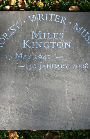 Miles Kington Memorial by John Joekes